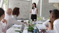 istock Businesswoman Leads Brainstorming Session Shot On R3D 503834330
