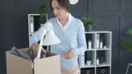 istock Businesswoman moving in new office 1179159474