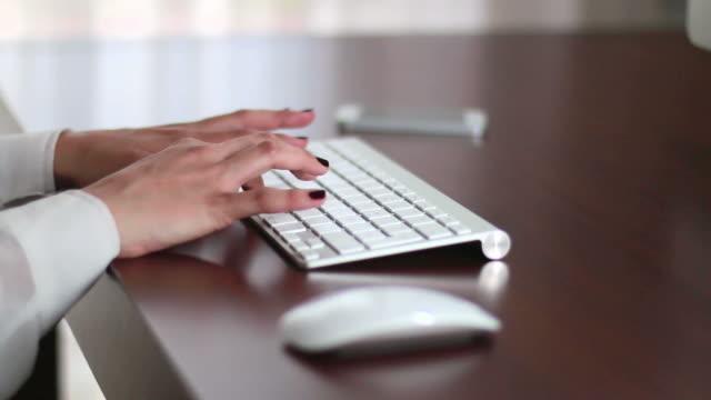 Businesswoman Office Working video