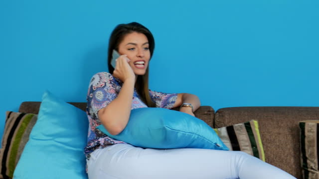 Businesswoman talking over the phone