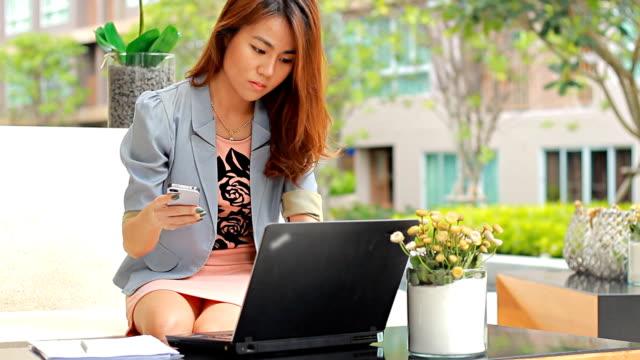 Businesswoman Working video