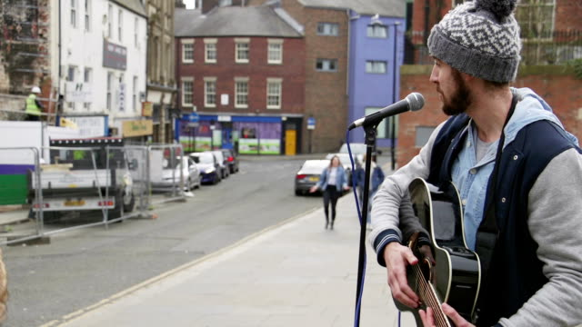 Busker Singing In The Street video