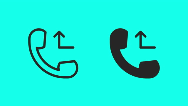Busy Call Icons - Vector Animate