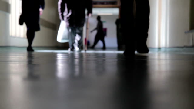 Busy Hospital Corridor video