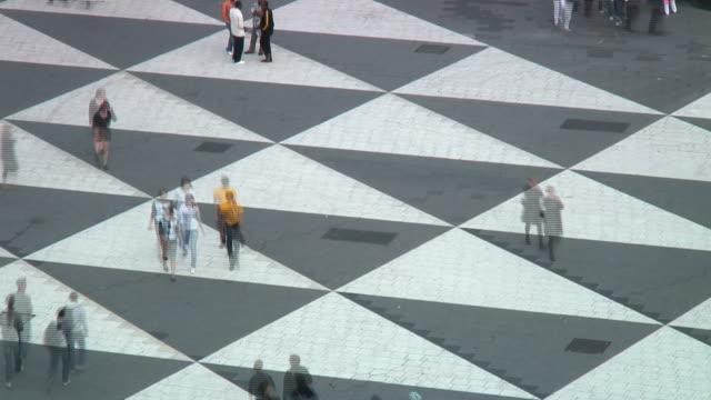 busy square (timelapse) - stockholm bildbanksvideor och videomaterial från bakom kulisserna