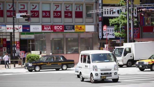 東京のにぎやかな通り、日本 - 豊富点の映像素材/bロール