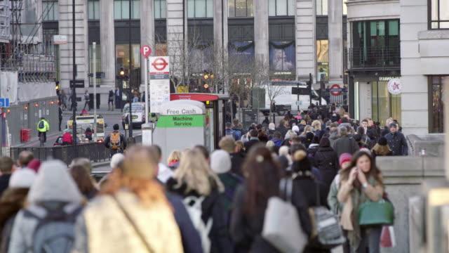 LA Busy Straßen von London – Video