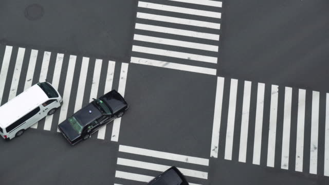 Busy Traffic in Ginza video