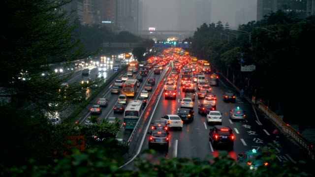 busy traffic - traffic filmów i materiałów b-roll