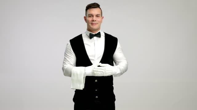 Butler gesturing with his hand video