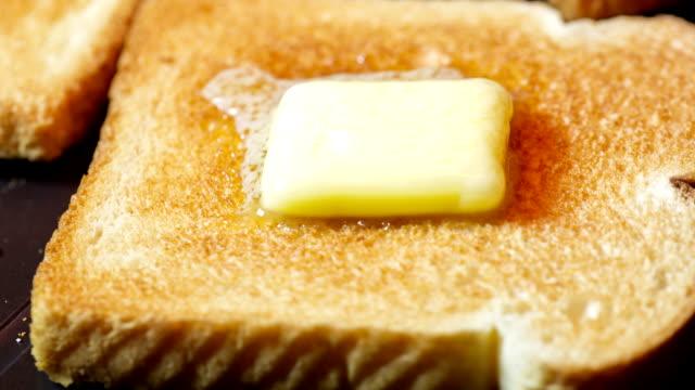 vídeos de stock, filmes e b-roll de de manteiga - gordura
