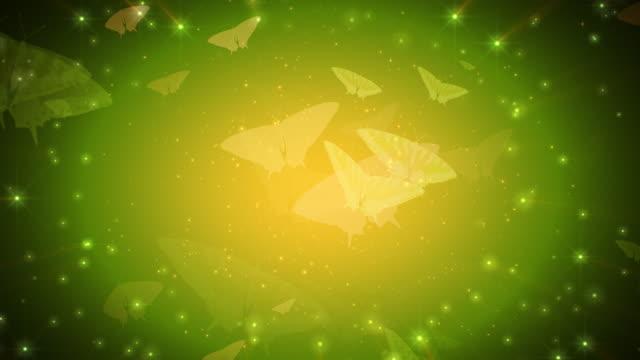farfalle sogno - mitologia video stock e b–roll