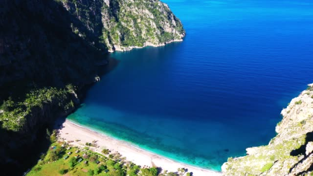 butterfly valley - fethiye video stock e b–roll
