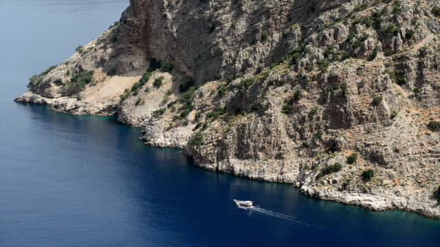 Butterfly Valley The Butterfly Valey in the city of Oludeniz/Fethiye in western Turkey. You can only reach this valey by boat. aegean turkey stock videos & royalty-free footage