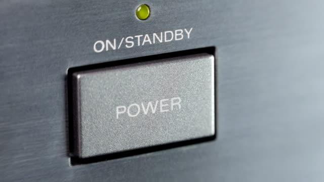 przycisk zasilania - zasilanie elektryczne filmów i materiałów b-roll