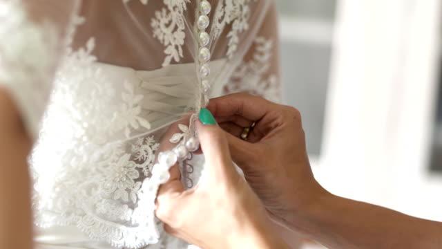 クラッシックウェディングドレス - 結婚式点の映像素材/bロール