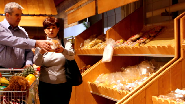Buying bakery products video