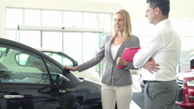 Buying new car, 4k. video