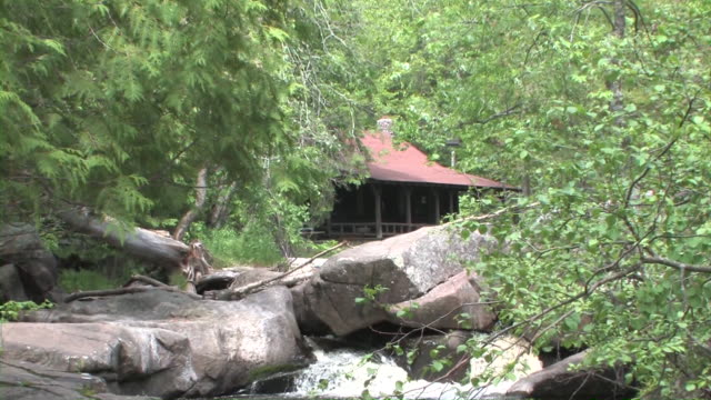 Cabin by River video