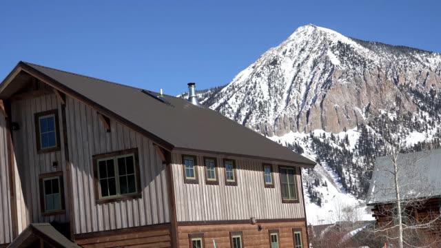 Cabin in Crested Butte Colorado video