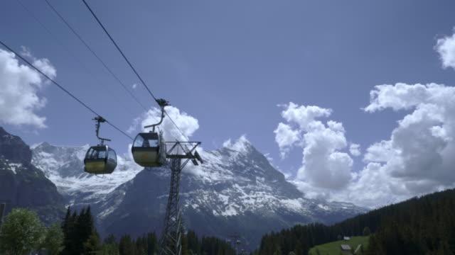 linbana vid grindelwald schweiz - grindelwald bildbanksvideor och videomaterial från bakom kulisserna