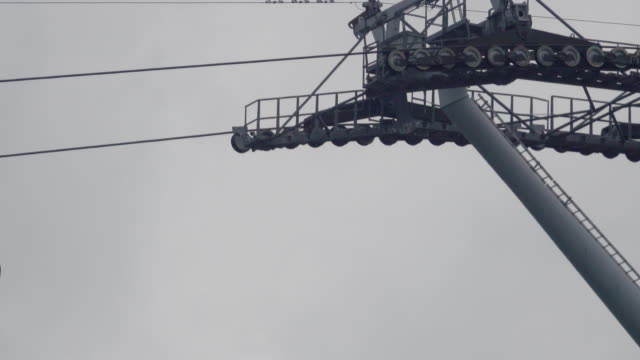 Cable Car Sky Pass at Singapore Cable Car Sky Pass at Singapore funchal stock videos & royalty-free footage