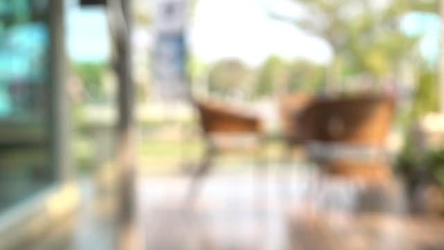 カフェのコーヒー、線撮影 - カフェ文化点の映像素材/bロール