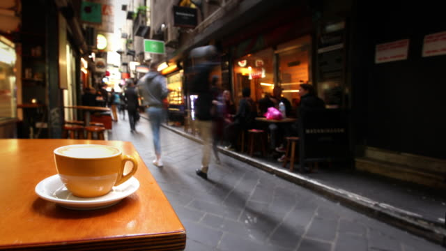 Cafe in Melbourne, Australia video