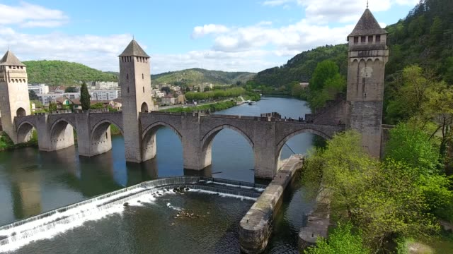 Cahors has had a rich history since became a large Roman city and Celtic times. video