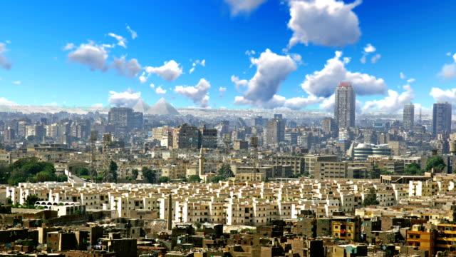 Cairo City Egypt Beautiful Day video