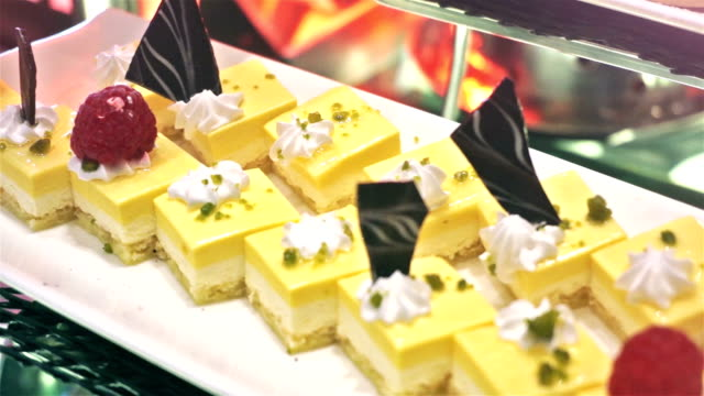 Cake. Dessert. video