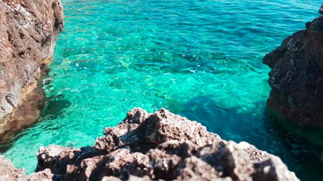 卡拉 calampiso、 聖維托羅投訴員警課,在西西里島特拉帕尼 - sicily 個影片檔及 b 捲影像