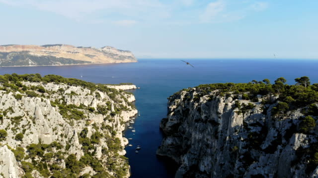 Calanques National Park in French riviera