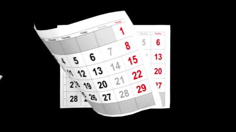 kalendarz 2014, animacji z alfa - data filmów i materiałów b-roll