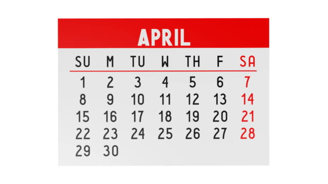Calendar - pages video