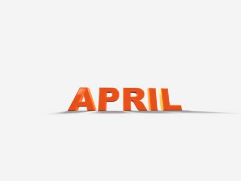 vídeos de stock e filmes b-roll de calendário de 4 a 6 (pal 25p - maio