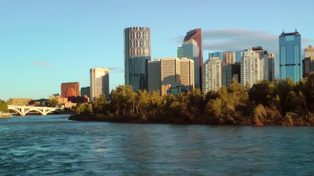 Calgary Waterfront Skyline video