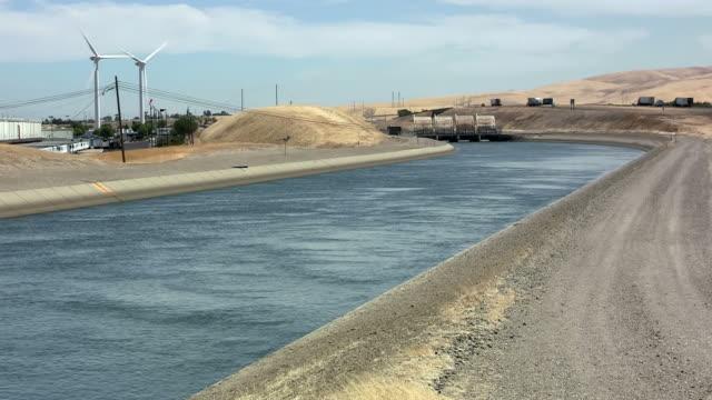 California aqueduct California aqueduct (near Tracy, CA) aqueduct stock videos & royalty-free footage