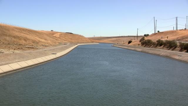 California aqueduct California aqueduct in Central Valley, California aqueduct stock videos & royalty-free footage