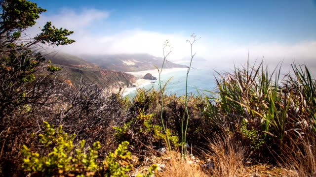 California Coast Time Lapse video