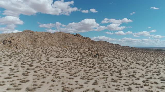 California Desert Landscape Aerial