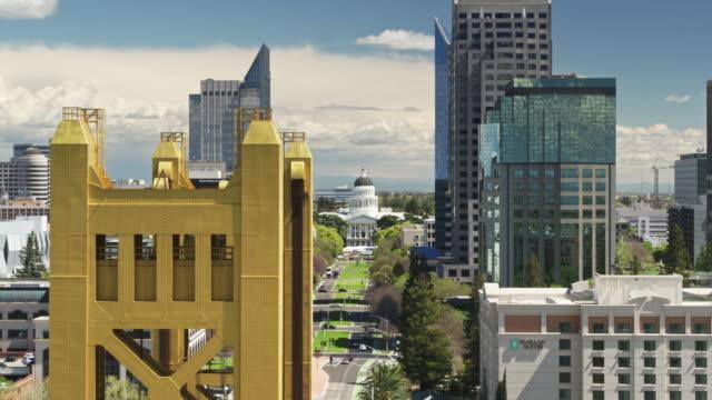 California State Capitol Mall, Sacramento-antenne - Vidéo