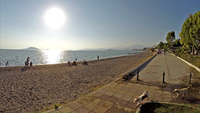 calis beach hyperlapse - fethiye video stock e b–roll
