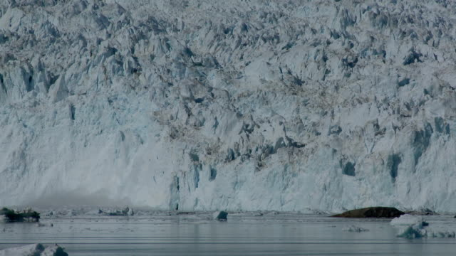 calving glacier video
