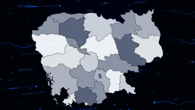 Cambodia network map video