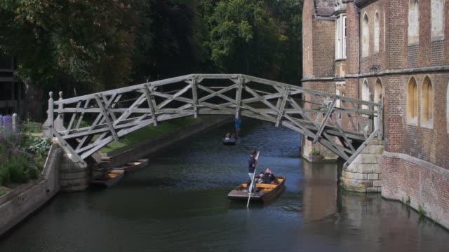 Cambridge mathematical bridge. video