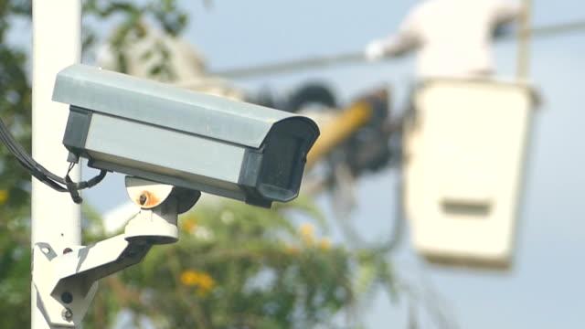 cctv camer (tjänst) - skylift bildbanksvideor och videomaterial från bakom kulisserna