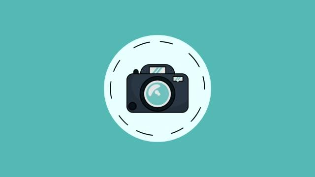 Bидео Camera and camcorder HD animation