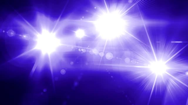 camera Flash flare spot light blue tune video