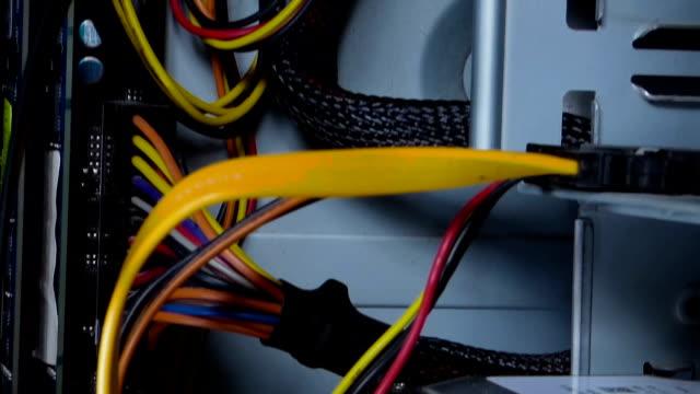 Camera moves inside computer system block video